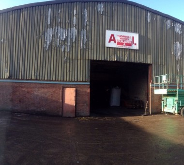 industrial property recladding